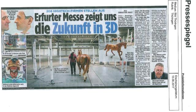 Messe Erfurt Auszug Bildzeitung